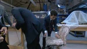 Apprentice series nine: Watch preview - Boys blunder with chair