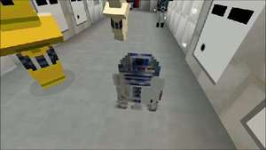 Star Wars: Episode IV - A New Hope recreated in Minecraft