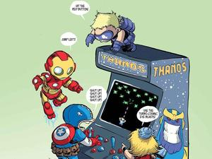 Skottie Young&#39;s &#39;Infinity&#39; #1 variant