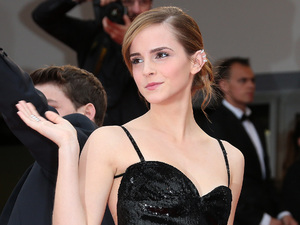 Emma Watson, Cannes Film Festival, The Bling Ring, Chanel gown, monochrome 