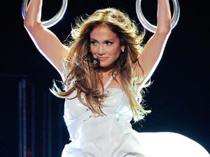 Jennifer Lopez, American Idol Season 12 Finale, Los Angeles, fishtail gown