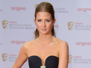 Millie Mackintosh, TV Baftas 2013, black gown, Made in Chelsea