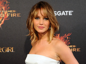 Jennifer Lawrence promotes the Hunger Games sequel in South of France.
