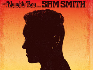 Naughty Boy ft. Sam Smith 'La La La' single artwork.