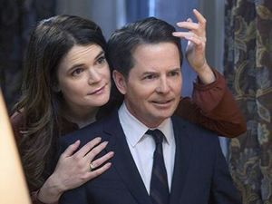 'The Michael J Fox Show': Michael J Fox and Betsy Brandt