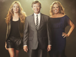 Host Cat Deeley and judges Nigel Lythgoe and Mary Murphy