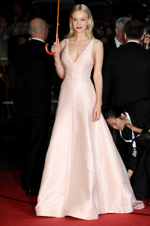 Carey Mulligan, 66th Cannes Film Festival, The Great Gatsby premiere, rain, umbrella, actress, Christian Dior