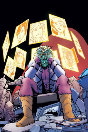 Artwork from 'Legion of Super-Heroes' #23