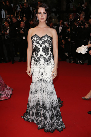 Lana Del Rey, 'The Great Gatsby' film premiere, 66th Cannes Film Festival, gown