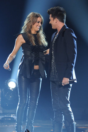 'American Idol' season 12 grand final: Angie Miller and Adam Lambert