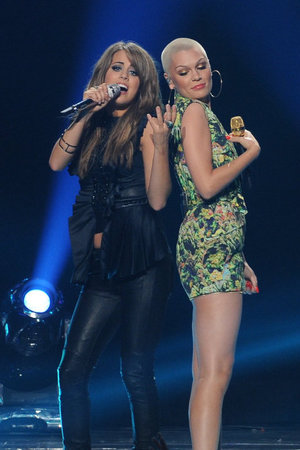 'American Idol' season 12 grand final: Angie Miller and Jessie J