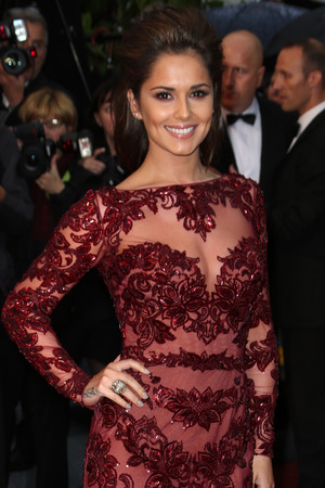 Cheryl Cole at the premiere of 'Jimmy P. Psychotherapy of Plains Indian' at the Cannes Film Festival.