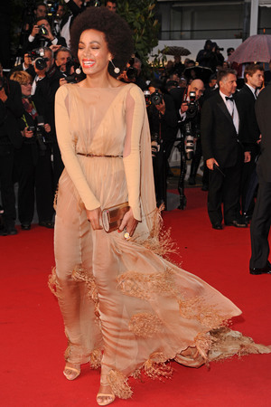Solange Knowles, The Great Gatsby, 66th Cannes Film Festival, Stephanie Rolland gown