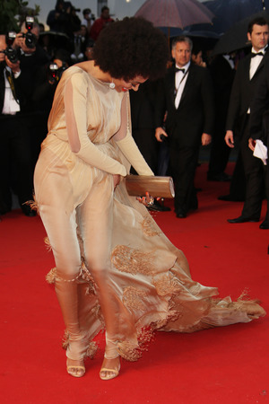 Solange Knowles, 'The Great Gatsby' film premiere, 66th Cannes Film Festival, Stephanie Rolland gown