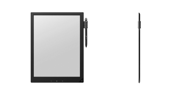 Sony's prototype e-ink slate