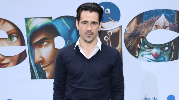 Colin Farrell arrives at the New York premiere of 'Epic' held at the Ziegfeld Theatre