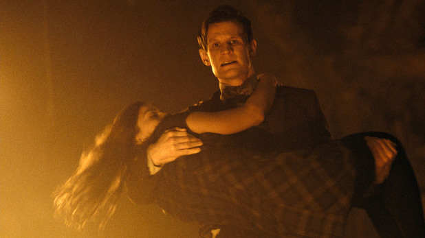 The Doctor (Matt Smith) & Clara (Jenna-Louise Coleman)c