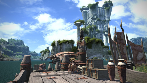 'Final Fantasy XIV: A Realm Reborn' environment screenshot