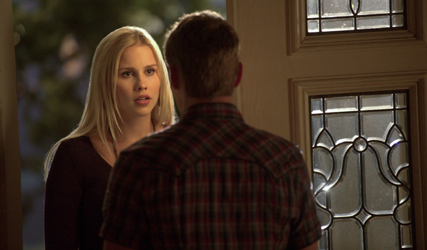 Claire Holt as Rebekah and Zach Roerig as Matt in The Vampire Diaries S04E23: 'Graduation'