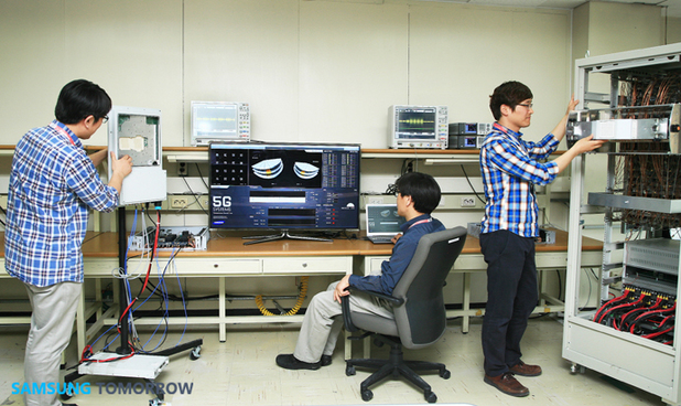 Samsung researchers experimenting with 5G