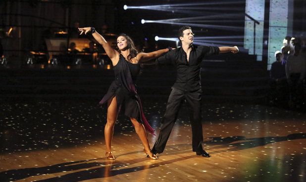 Dancing With The Stars Week 9: Aly Raisman & Mark Ballas