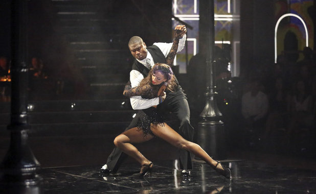 Dancing With The Stars Week 9: Jacoby Jones & Karina Smirnoff,