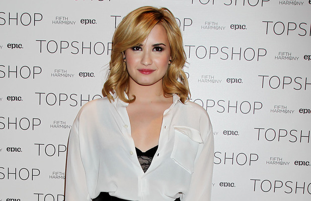 Demi Lovato, Topshop launches online competition, X Factor finalists, New York