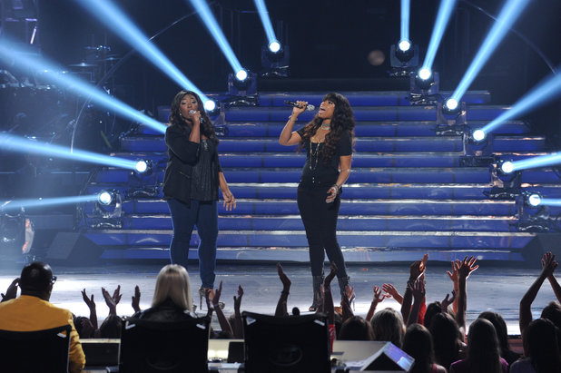 'American Idol' season 12 grand final: Candice Glover and Jennifer Hudson