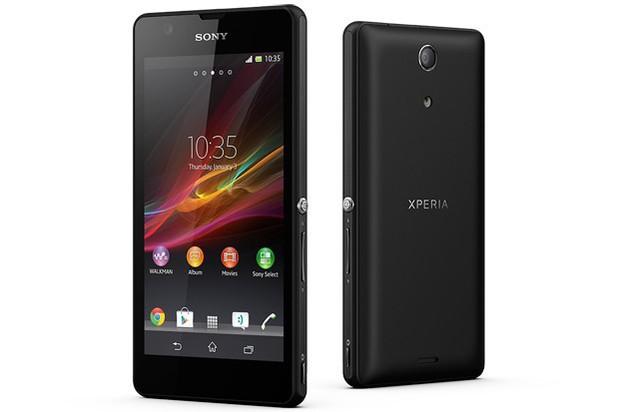 Sony's Xperia ZR smartphone