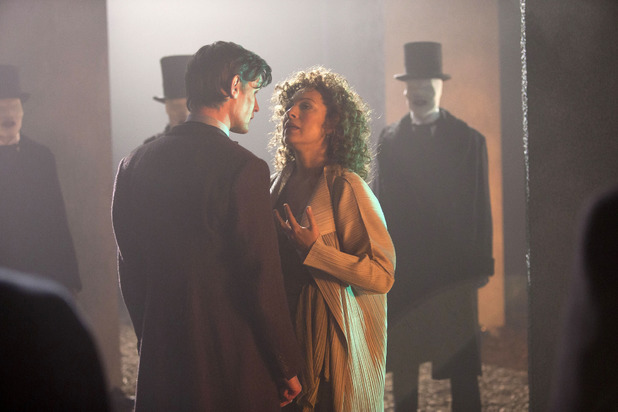 The Doctor (Matt Smith) & River Song (Alex Kingston)