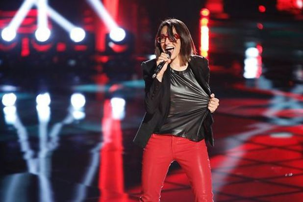 The Voice Season 4: Top 12 performances show - Michelle Chamuel