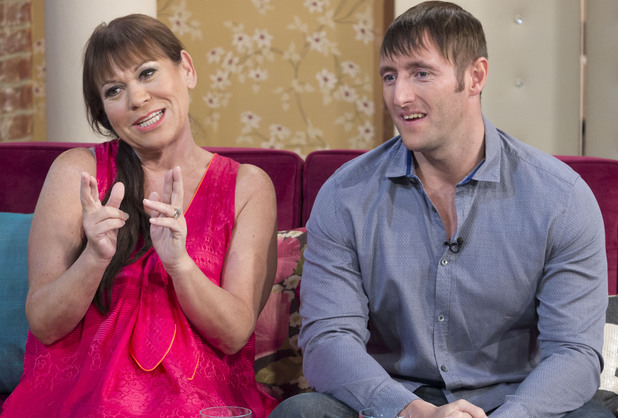 Tina Malone announces her pregnancy on 'This Morning' with husband Paul Chase
