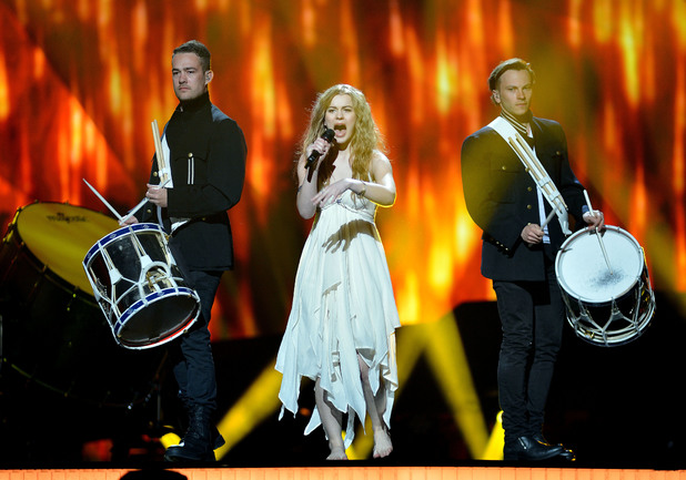 Denmark's Emmelie de Forest performing 'Only Teardrops' at Eurovision 2013