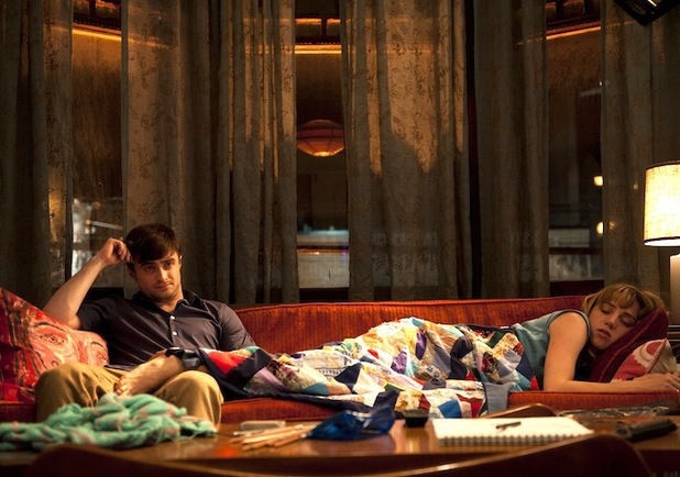 Daniel Radcliffe and Zoe Kazan in 'The F Word'