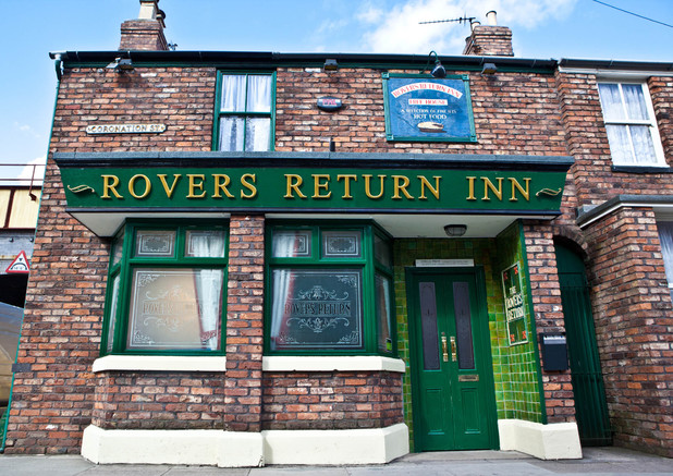 The Rovers Return re-opens for business