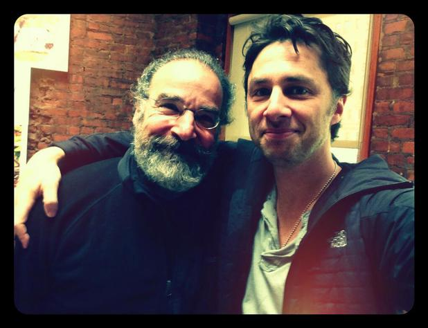 Mandy Patinkin and Zach Braff
