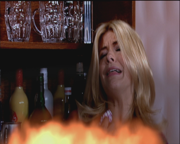Holly Willoughby in danger in Willoughfield