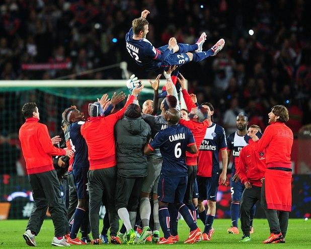 David Beckham retires