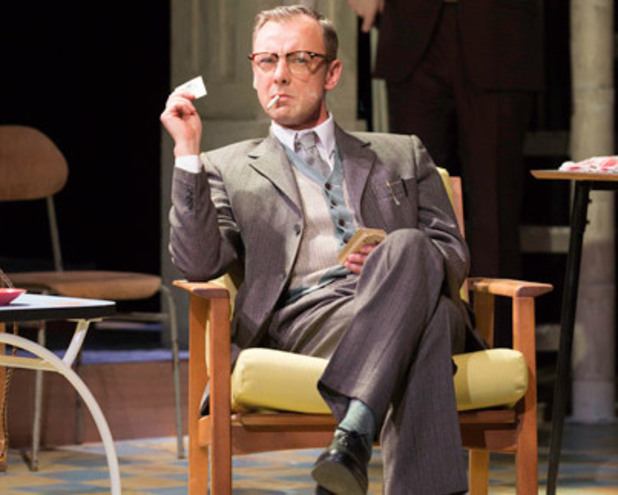 John Simm in Harold Pinter's 'The Hothouse'