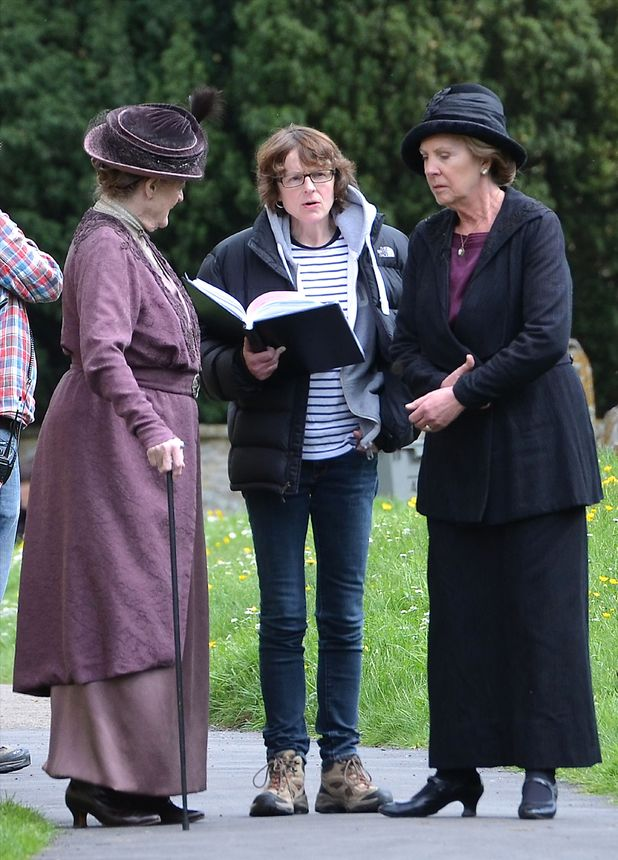 Penelope Wilton and Dame Maggie Smith