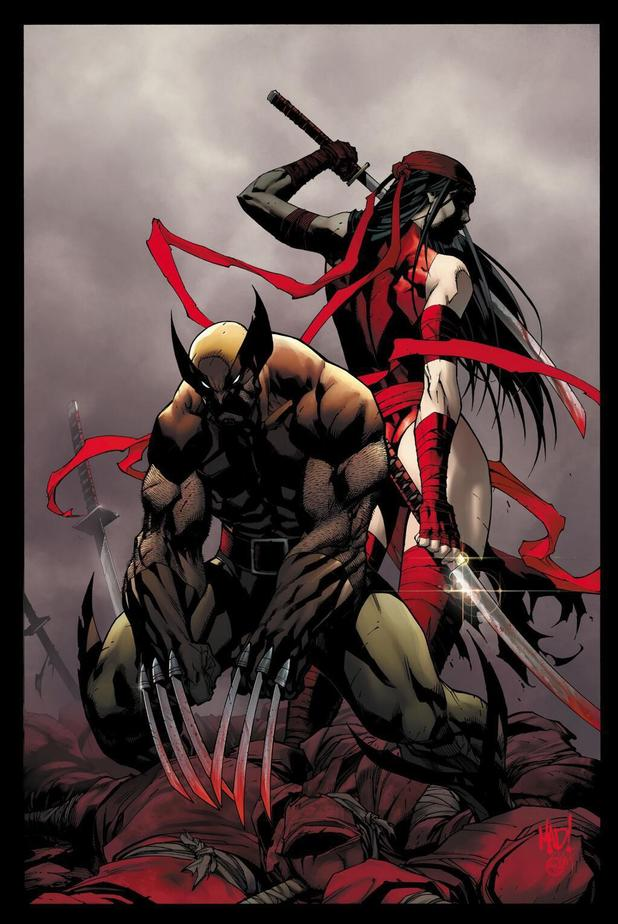 Logan & Elektra in 'Savage Wolverine' teaser artwork