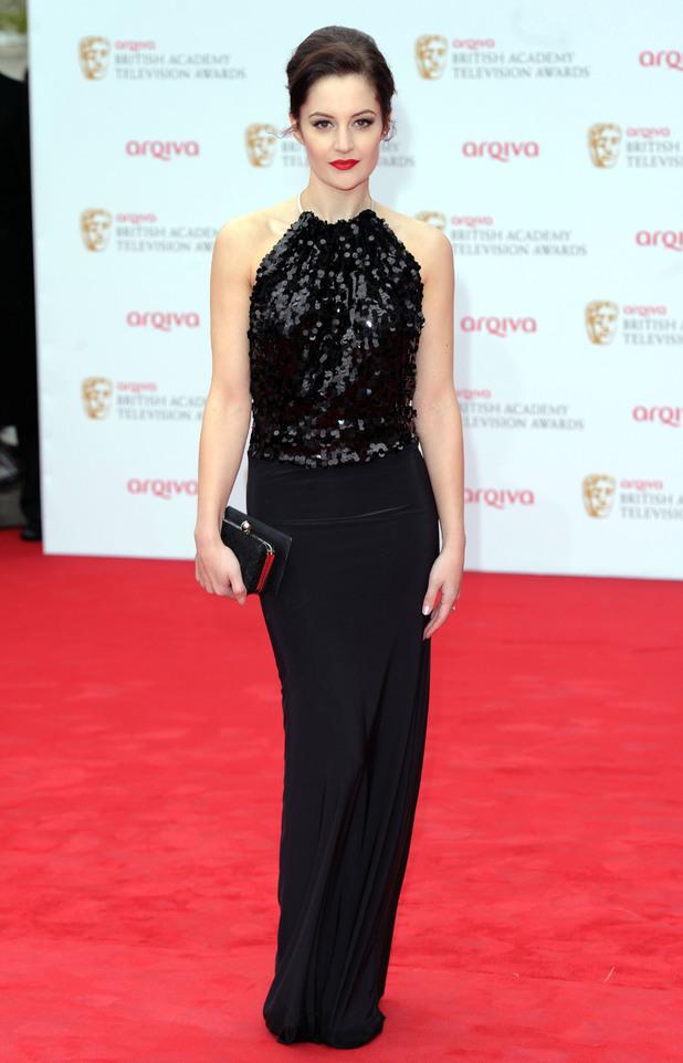Paula Lane, Coronation Street, Sve Couture, TV BAFTA Awards 2013
