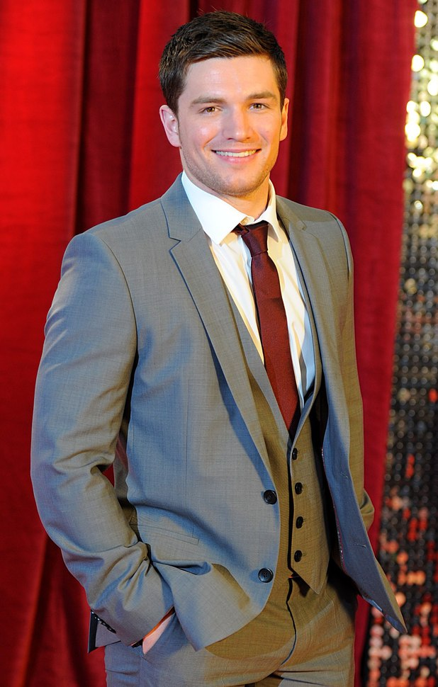 David Witts arrives for The British Soap Awards.