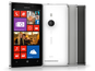 Lumia 925 boasts sleek metal design, with colors white, grey and black available.