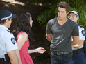 Kate is helpless as Mason is handcuffed.