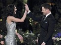 "Chris Harrison says Desiree Hartsock knows that her ""time is running out""."