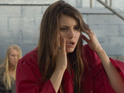 Nina Dobrev as Elena in The Vampire Diaries S04E23: 'Graduation'