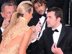 Lady Victoria Hervey gets asked to leave Cannes red carpet after posing for too long.