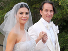 The couple marry in front of 50 guests in Coral Gables, Florida.
