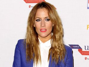 Caroline Flack, Natwest UK Fashion and Textile Awards, London